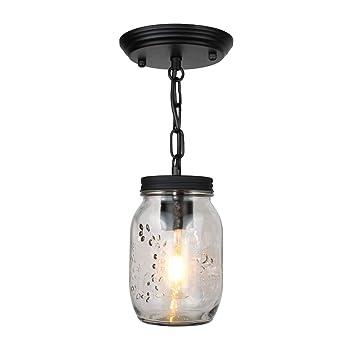 ASHENG Lámpara Tradicional de Techo de Bricolaje, lámpara de Techo ...