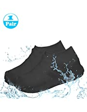 PUBAMALL Impermeable Cubiertas de Zapatos, de Silicona, Botas de Lluvia Impermeables Botas de Lluvia para Hombres, Mujer
