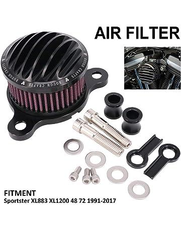 2 capas limpiador de filtro de aire para motocicleta vanpower Filtro de acero 52 mm