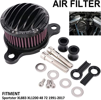 NewYall Air Cleaner Intake Filter System Kit
