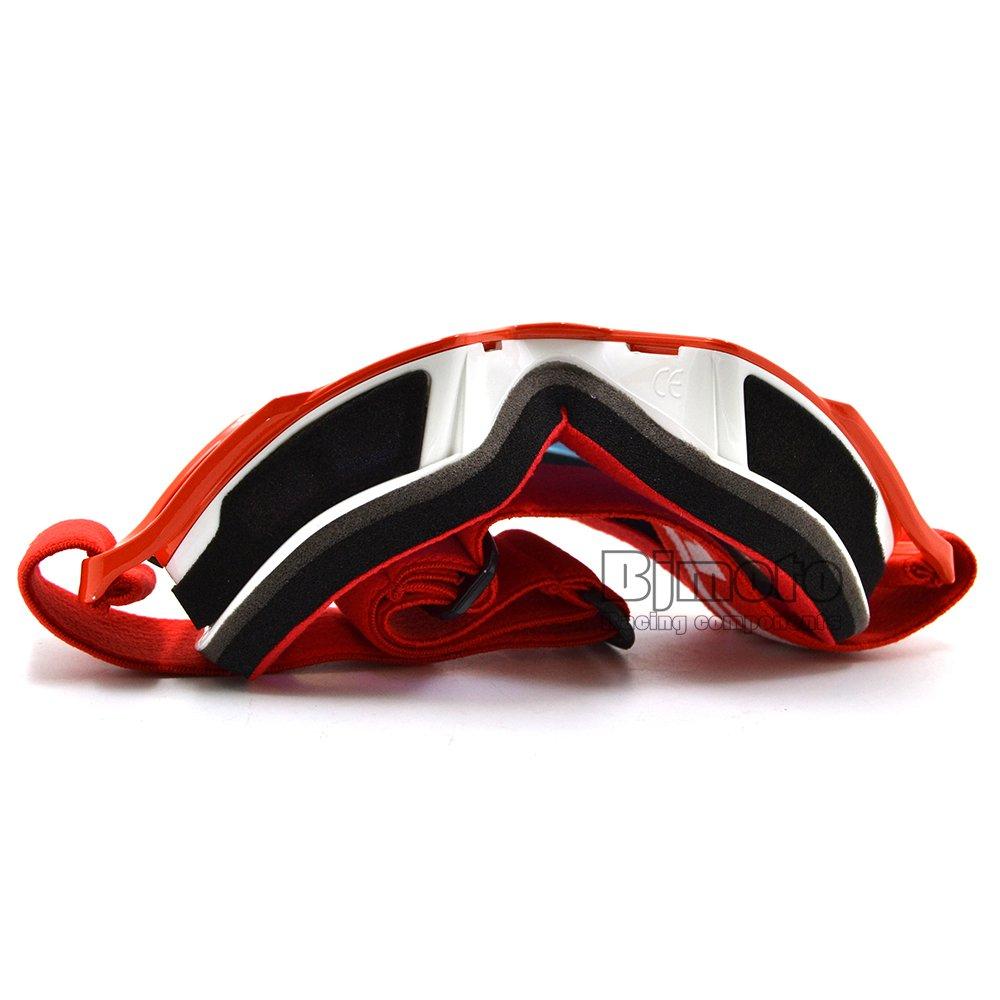 BJ Global Motocross Gafas Gafas Hombres Mujeres MX Off Road Cascos Sport Gafas Goggle Para Dirt Bike