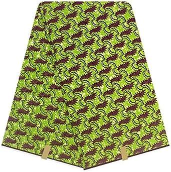 Amazon Com African Dutch Wax Hollandais African Real Guaranteed Dutch Wax Hollandais Wax 6yards Lot For Women Dress
