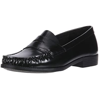 SCHOOL ISSUE Women's Penny Loafer, Black, 8.5 Wide US | Loafers & Slip-Ons