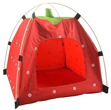 TFN Carpa Portátil para Mascotas Al Aire Libre, Lavable Carpa Plegable Refugio De Acampar Durable