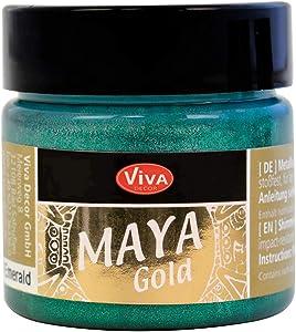 Viva Decor 123270134 Maya Gold Paint, Emerald