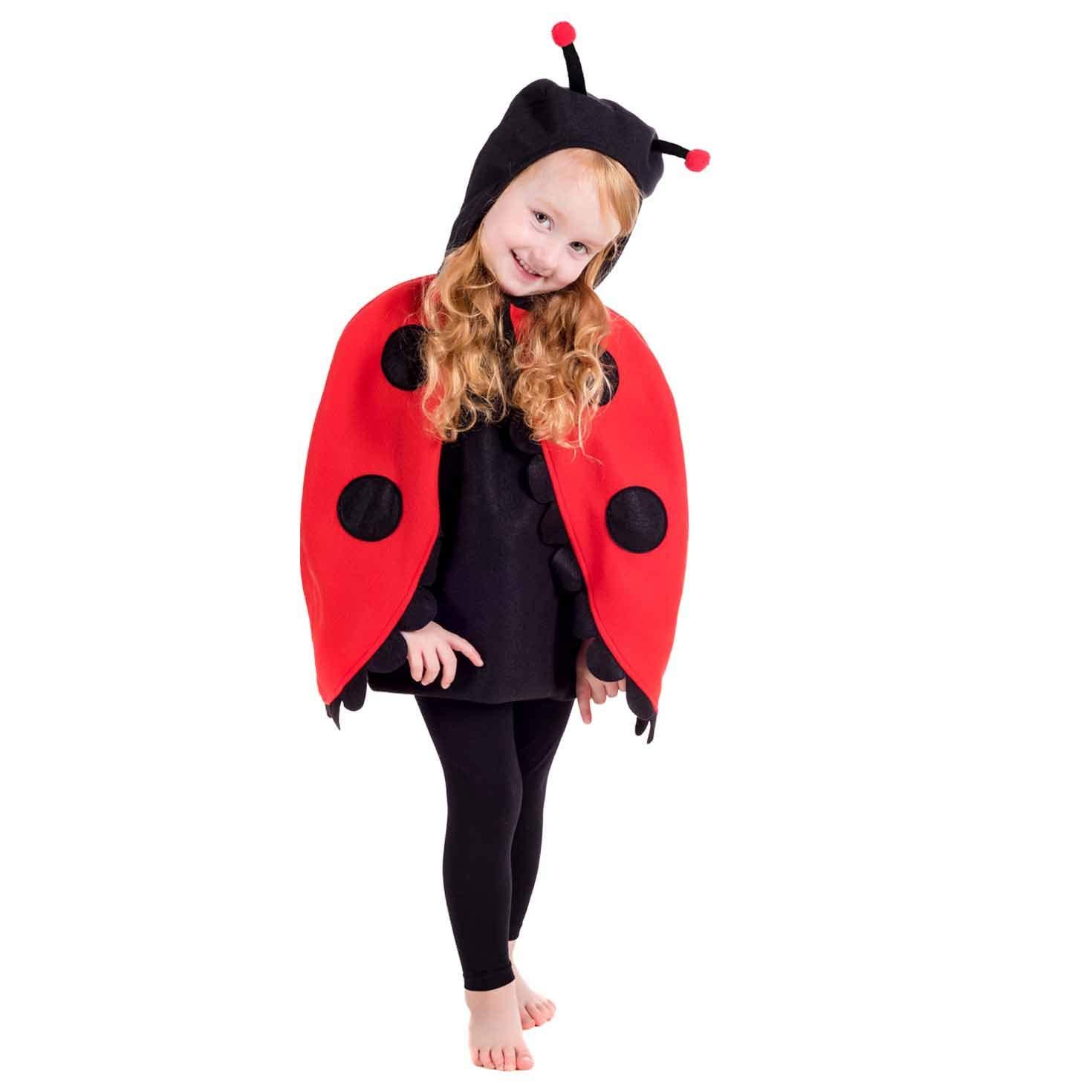 Fun Shack Rojo Mariquita Disfraz para Niños y Niñas - S: Amazon.es ...