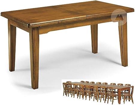 Mesa 8 patas extensible a 3,60 cm 16 plazas: Amazon.es: Hogar