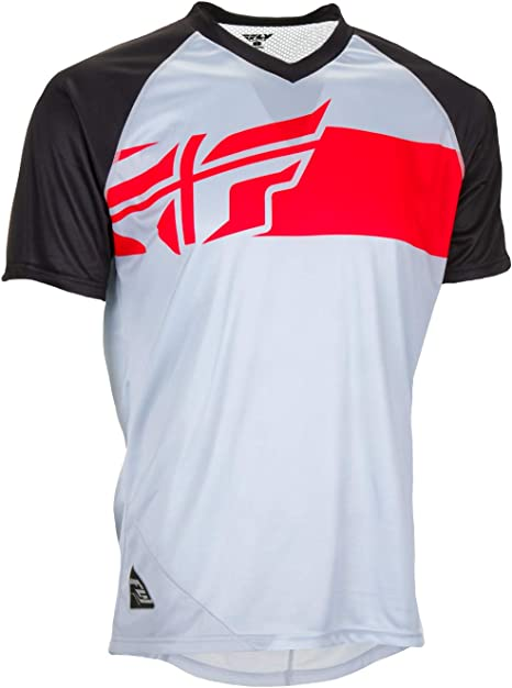 Fly Racing Action Elite Jersey Mountain Bike & BMX gris de color ...
