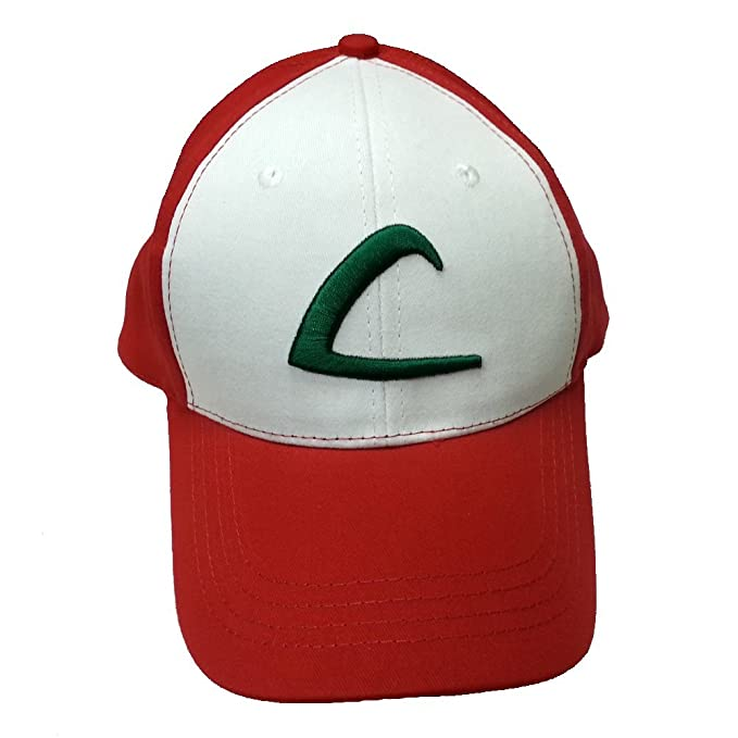 Image Unavailable. Image not available for. Color  Ash Ketchum L Baseball  Cap 0835f2514c6