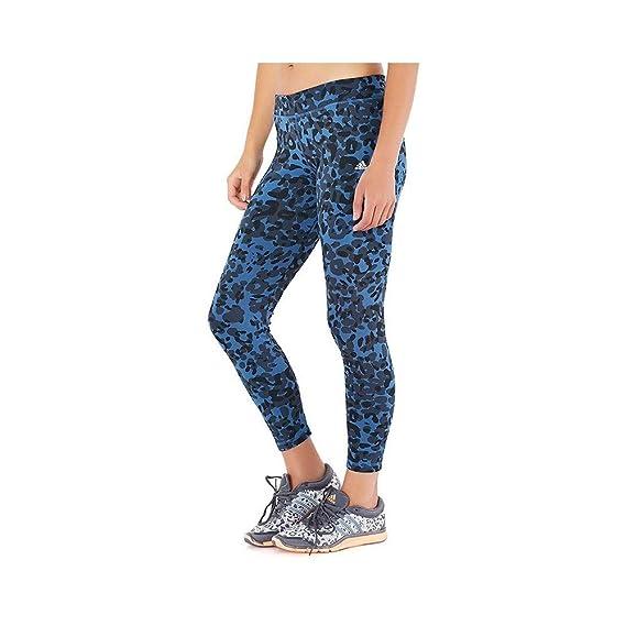 Legging Bleu Entrainement Femme Adidas  Amazon.fr  Vêtements et accessoires 6d630420c67