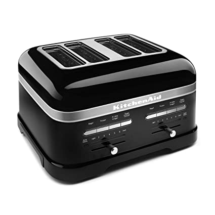 Kitchenaid Kmt4203ob Onyx Black 4 Slice Pro Line Toaster