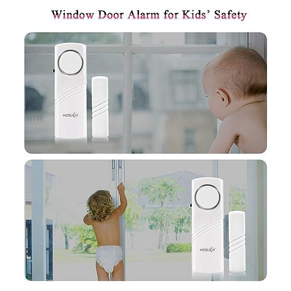 Amazon.com: Alarma para puerta, alarma inalámbrica de ...