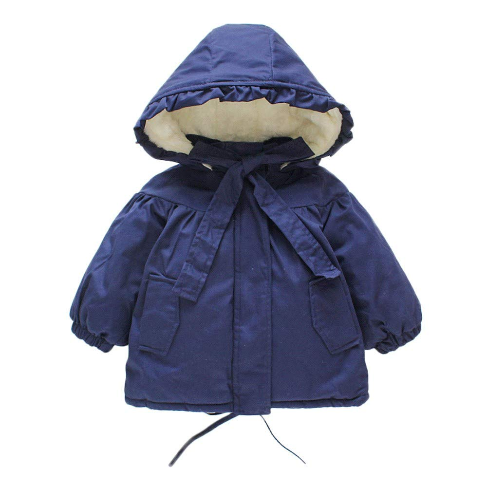 Toddler Baby Winter Warm Jacket Outerwear Snowsuit Hooded Windproof Down Coats Winter Snow Wear Kids Clothes