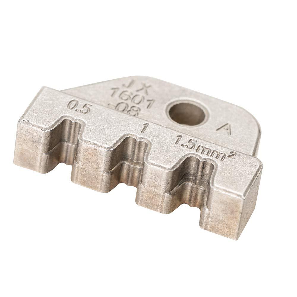 Docooler Alicates que prensan Alicates que prensan JX-1601-01 AWG24-14 Sujetador de la abrazadera de Bootlace Cable Jaws Dupont mold Clamp Alicate Cable de corte Terminal de moldeo