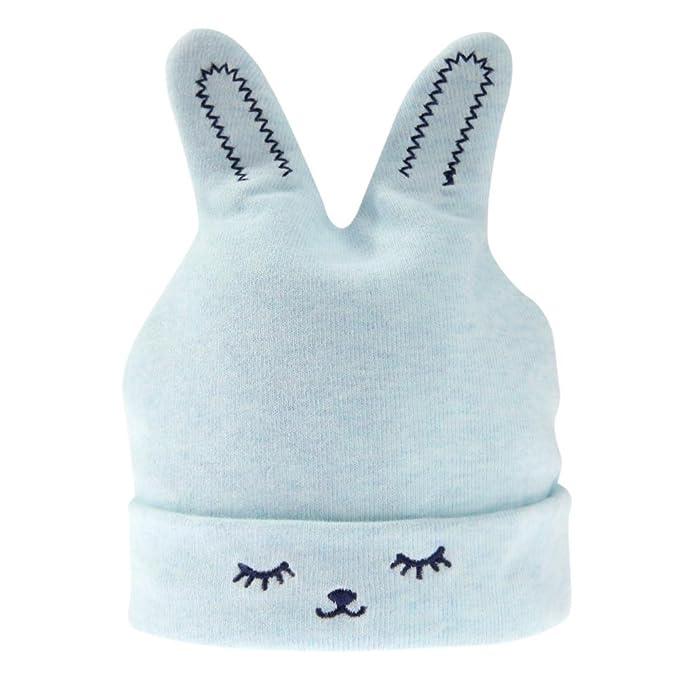 Cappello Neonato Invernale di Domybest Cappello Neonato Cotone con Orecchie  Carine a Forma di Coniglio per Neonati  Amazon.it  Abbigliamento a5855bd1da1e