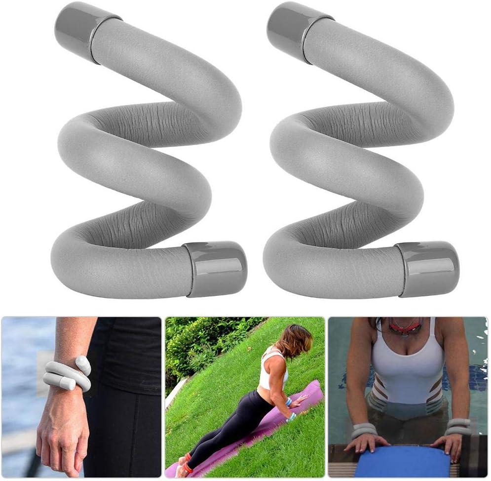 Demeras 2pcs Fitness Yoga Pulsera con Soporte de Peso Tobillo Peso Anillo Mu/ñeca Peso Anillo Fortalecimiento Ejercicio f/ísico