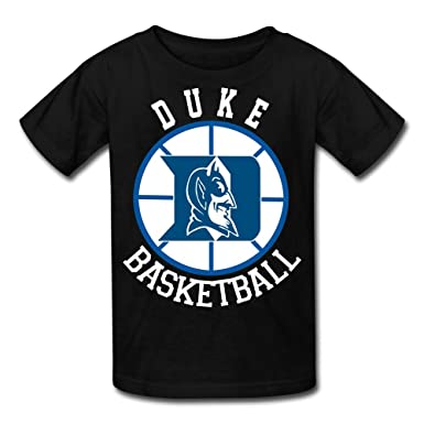 1fa24546 Amazon.com: Youth Duke Blue Devils Basketball Vintage Tri-Blend T-Shirt -  Black: Clothing