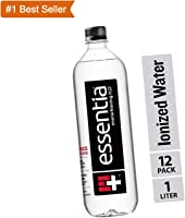 Essentia Water, Ionized Alkaline Bottled Water; Electrolytes for Taste, Better Rehydration, pH 9.5 or Higher, 33.8 Fl...