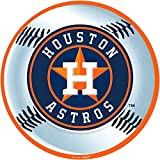 """Amscan MLB Houston Astros Party Laminated Cutouts Decoration, Multi Color, 12.7 x 11.1"""""""