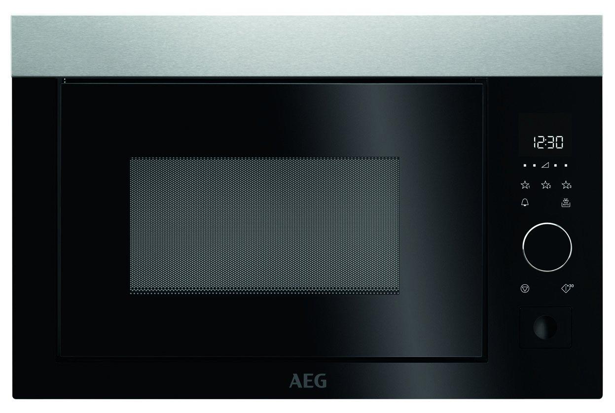 AEG MBE2657S-M acero fino Einbau-microonda Solo: Amazon.es ...