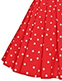 GownTown Women's 1950s Polka Dot Vintage Dresses
