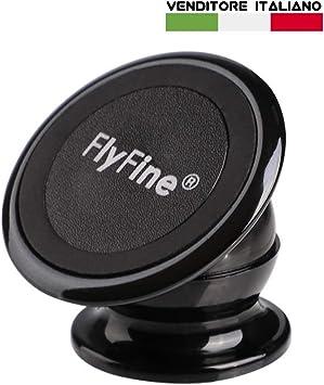 FLYFINE Soporte móvil 360 ° Soporte para Smartphone Magnético para ...