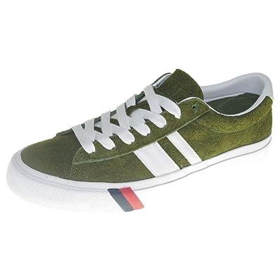 Pro-Keds PH46129E Unisex Royal Plus Shoes, Olive, Men's 7.5 D(M