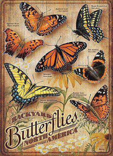 Cobblehill 85006 500 pc Backyard Butterflies Puzzle, Various ()