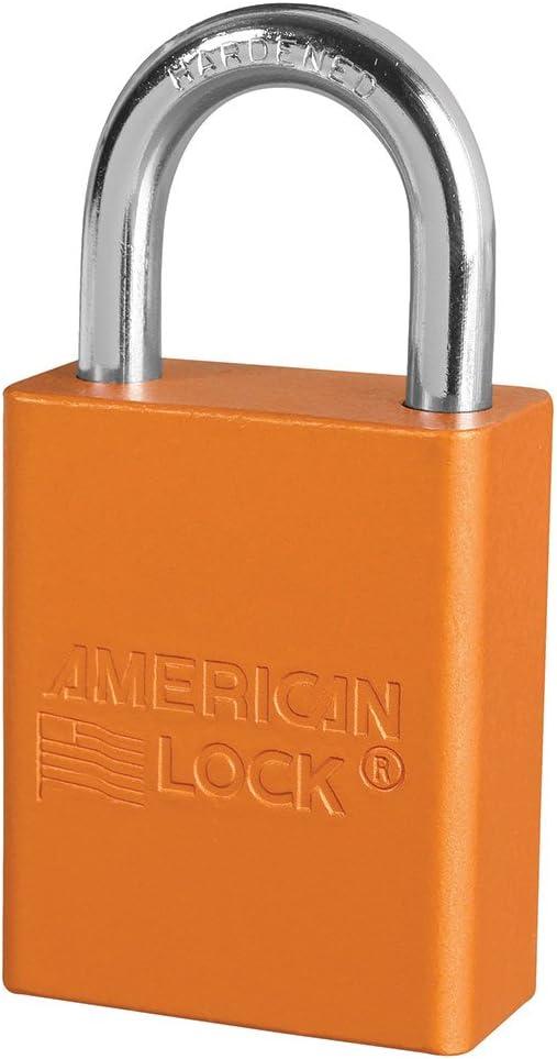 American Lock Series 1106 Padlock set of 3 locks keyed alike 2 keys.