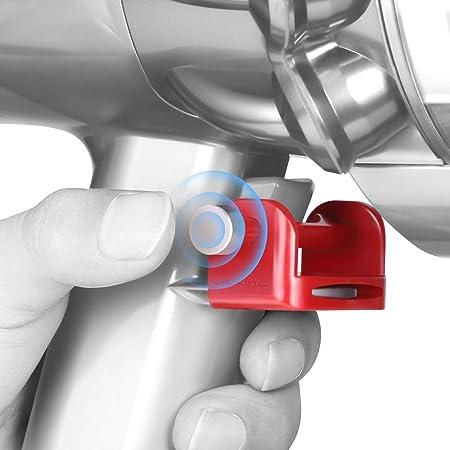 Lanmu Trigger Lock para Dyson V11 V10 Aspirador Absoluto/Animal/Motorhead, Accesorios De Bloqueo del Botón De Encendido, Libere Su Dedo: Amazon.es: Hogar