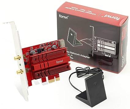 Fenvi WiFi Card Dual Band Wireless-AC 9260 PC PCIE 2030Mbps BT5 0 802 11ac  2 4Ghz 5Ghz MU-MIMO Desktop WLAN PC BT 5 0 Network Adapter for Windows 10