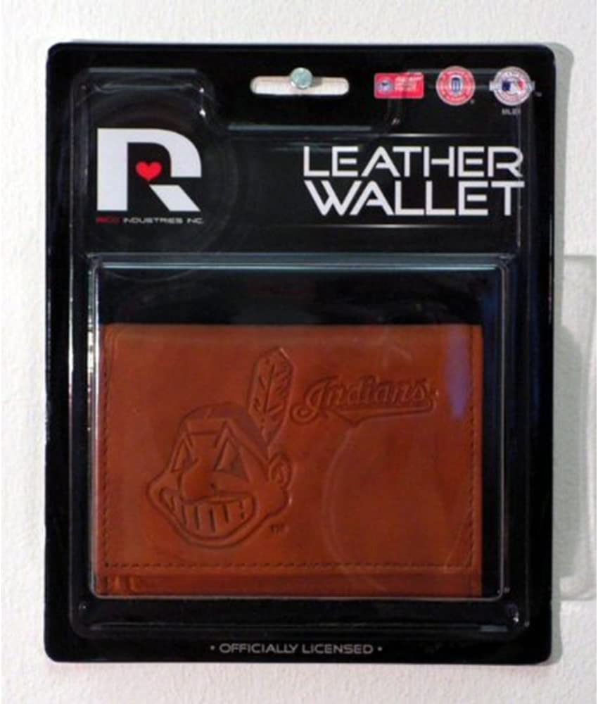 Rico Industries MLB unisex Wallet Trifold Leather Embossed