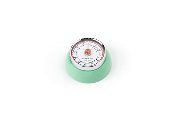1 opinioni per Fox Run Retro Mint Green 60 Min Kitchen Timer W/ Magnet Espresso Cake Roast New