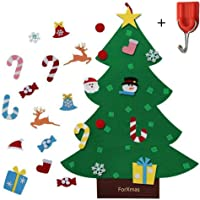 ForXmas DIY Felt Christmas Tree with 26-Pc Christmas Decorations