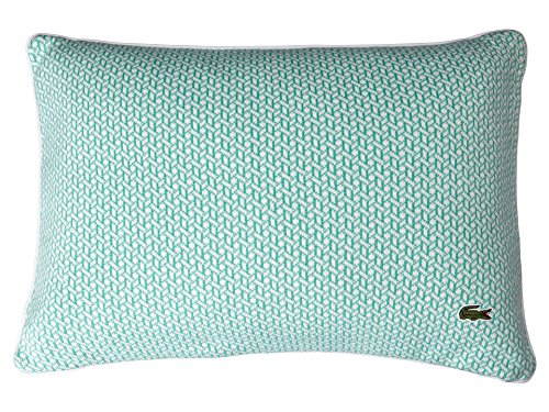Lacoste Jersey Knit Basketweave 12x18 Throw Pillow