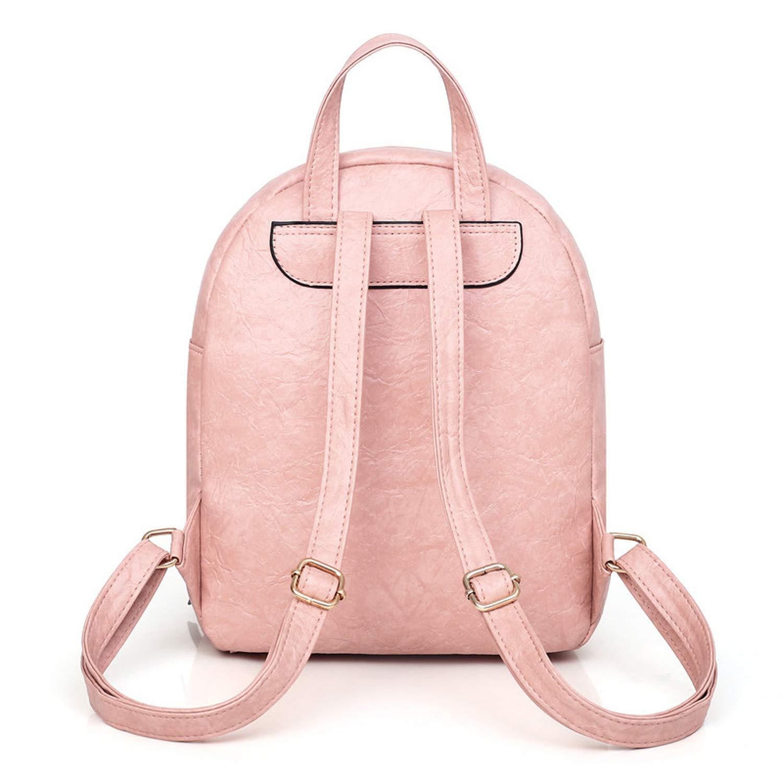 2pcs//Set Women Leather School Bag Large Casual Preppy Style Female Backpacks Shoulder Bag Purse