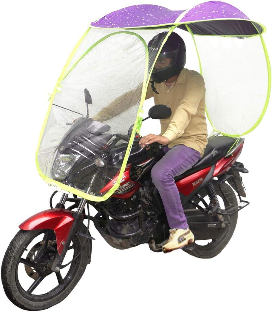 Muren Two Wheeler Waterproof Rainy Bike Shield cover Canopy (Purple):  Amazon.in: Car & Motorbike