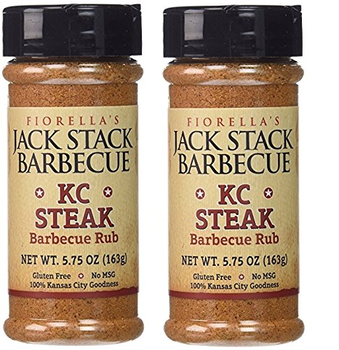 Fiorellas Jack Stack Barbecue KC Steak, 5.75 oz (Pack of 2)