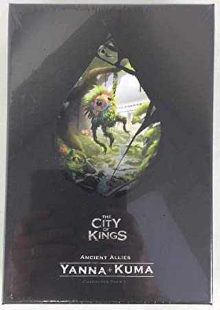 The City of Kings: Character Pack 1 - Expansión Juego de Mesa ...