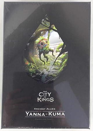 The City of Kings: Character Pack 1 - Expansión Juego de Mesa [Inglés]: Amazon.es: Juguetes y juegos