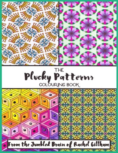 Plucky Patterns Adult Colouring Book