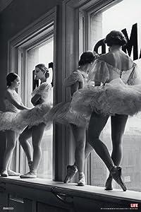 Pyramid America Time Life Ballerina Window Photo Photograph Cool Wall Decor Art Print Poster 12x18