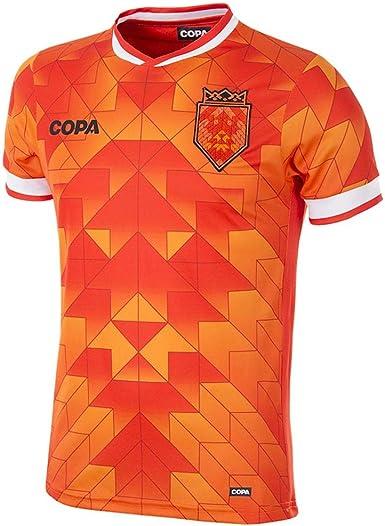 Copa Herren T-Shirt mit V-Ausschnitt Holland Football Shirt