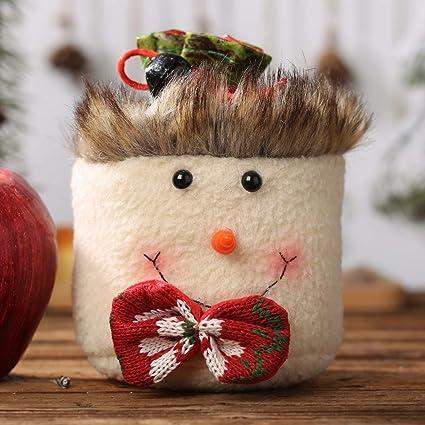 Bolsas de dulces navideñas Bolsas de regalo Bolsas de lazo ...