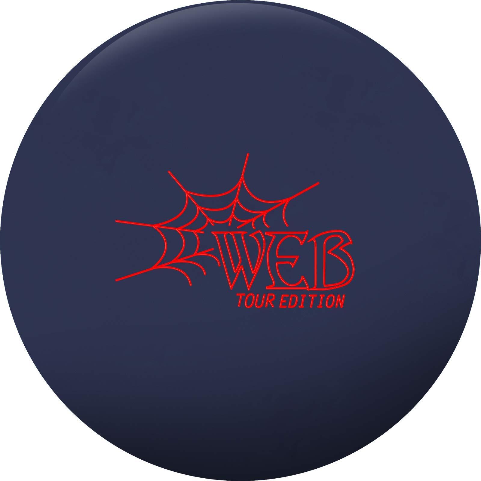 Hammer 029744028378 Web Tour Bowling Ball, Navy Blue, 12