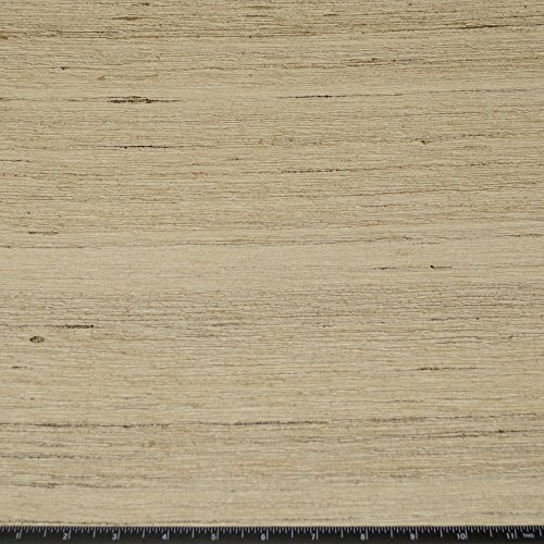 Silk Upholstery Fabric - Natural Color Tassah & Noil, 100% Raw Silk Fabric, By the yard, 54