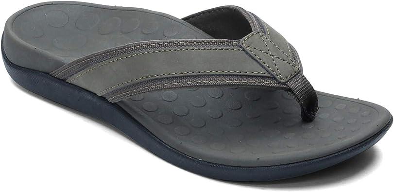 Vionic Hombre Tide 544MTIDE Leather Textile Sandalias: Amazon.es: Zapatos y complementos