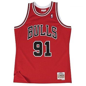 Mitchell & Ness NBA Chicago Bulls Dennis Rodman 1997-98 Swingman Jersey Red XX Large