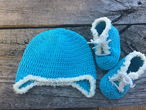 and Lace-up Boots Set by BeautiWool Handmade. ()