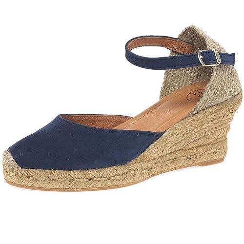 Toni Pons Lloret II 5 Womens Espadrilles 40 EU Ante Azul Marino: Amazon.es: Zapatos y complementos